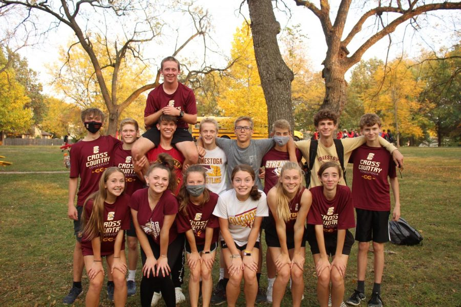 The Conestoga cross country team competed at the Nebraska Capitol Conference at Walnut Grove Park, Millard Neb. on Oct. 8, 2020.