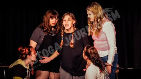 One-Act Dress Rehearsal – Cougar Candids