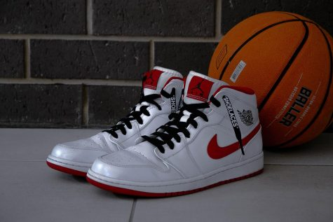 Popular sneakers, like Air Jordan 1
