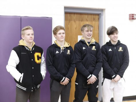 Carter Plowman, Braden Ruffner, Cameron Williams and Keaghon Chini each placed in the top four of the C2 District Tournament and advanced to the NSAA State Tournament in Omaha, Neb. on Feb. 19 and 20.