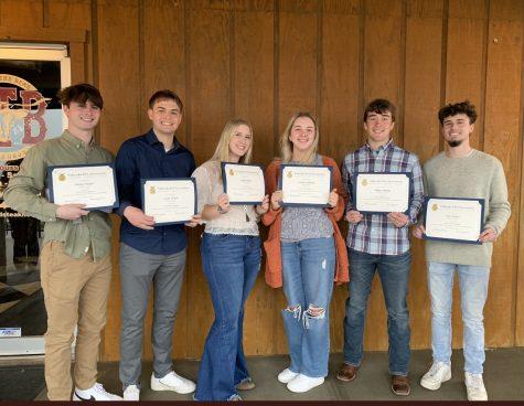 FFA Seniors Earn State Degrees