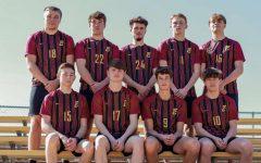 Conestoga Boys Soccer Seniors (bottom row right to left: Caden Simon, Wes Nickels, Ben Welch, Trace Widler. Top: James Parriott, Tobias Nolting, Kyle Nickels, Koby Vogler, Grant. Nickels)