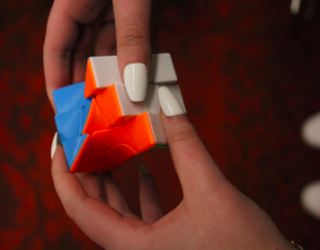 One of Kylee Plowmans Rubiks Cubes