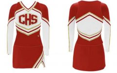 Design for new Conestoga cheerleader uniforms